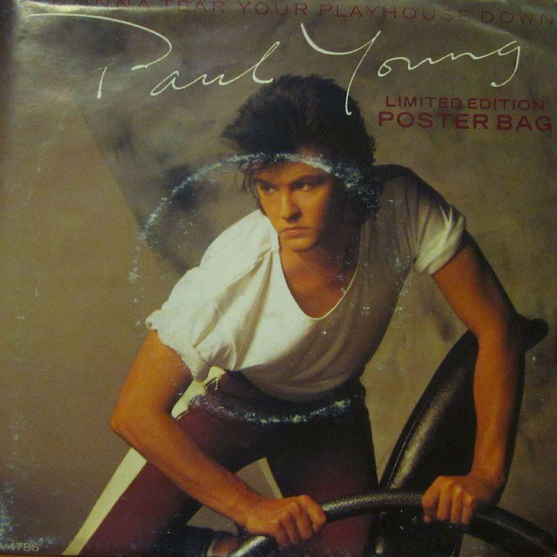 "Paul Young-I'm Gonna Tear Your Playhouse Down-7"" Vinyl"