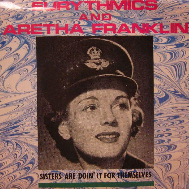 "Eurythmics & Aretha Franklin-Sisters Are Doin It For Themselves-7"" Vinyl P/S"