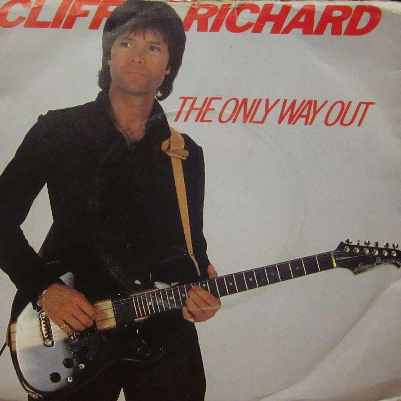 "Cliff Richard-The Only Way Out-7"" Vinyl P/S"