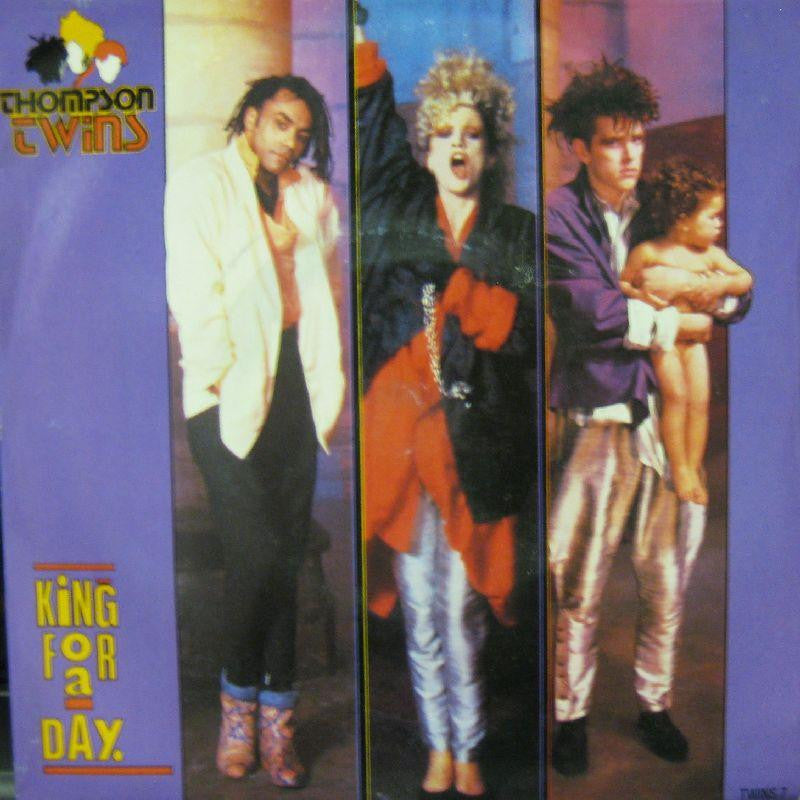 "Thompson Twins-King For A Day-7"" Vinyl P/S"
