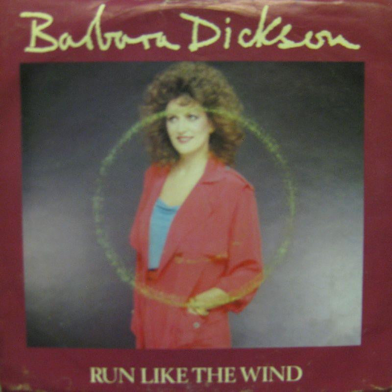 "Barbara Dickson-Run Like The Wind-Epic-7"" Vinyl P/S"