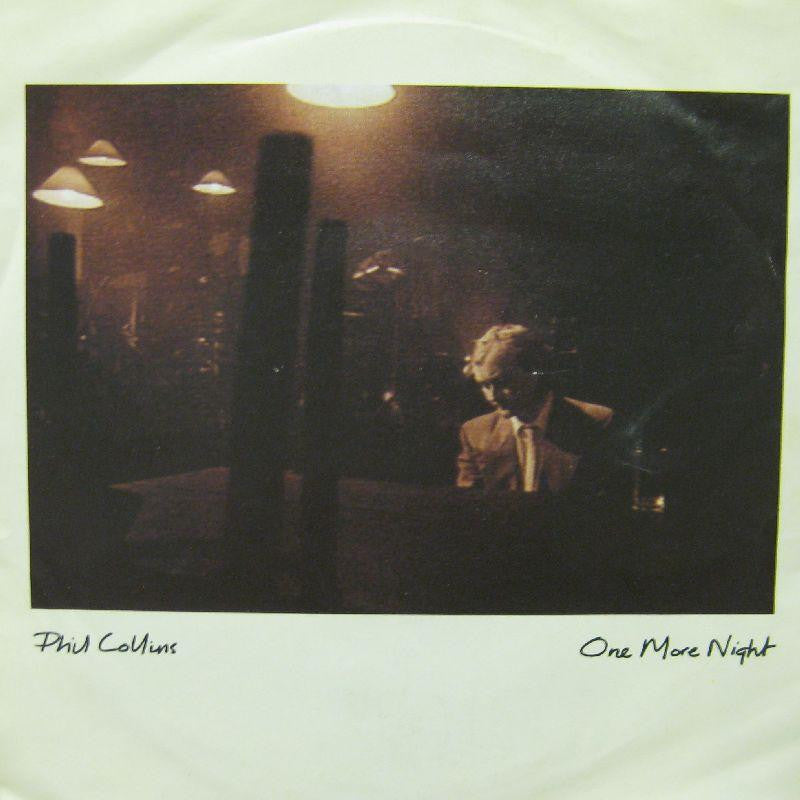 "Phil Collins-One More Night-7"" Vinyl P/S"