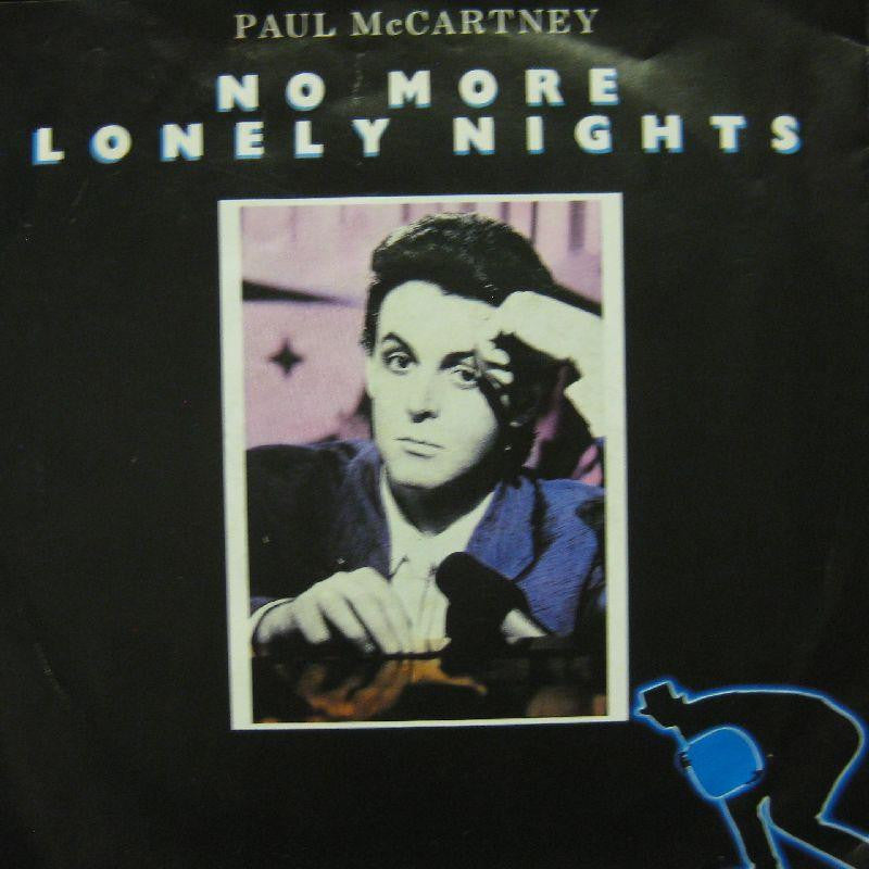 "Paul McCartney-No More Lonely Nights-7"" Vinyl P/S"