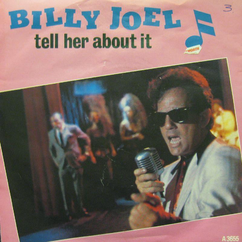 "Billy Joel-Tell Her About It-7"" Vinyl P/S"