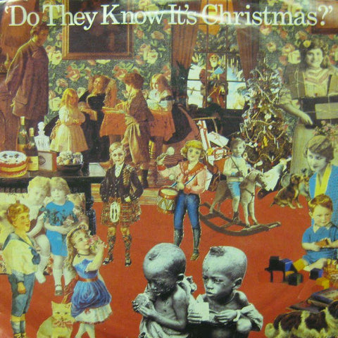 "Band Aid-Do They It's Christmas-7"" Vinyl P/S"