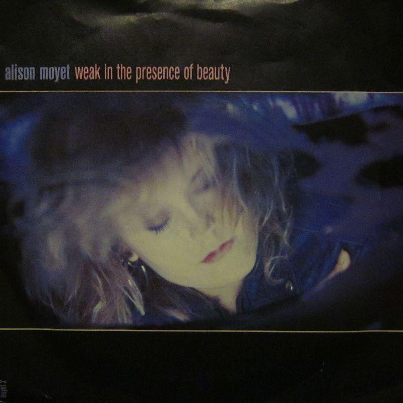 "Alison Moyet-Weak In The Presence Of Beauty-7"" Vinyl P/S"