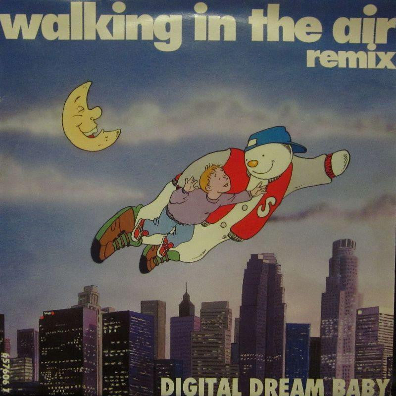 "Digital Dream Baby-Walking In The Air Remix-Columbia-7"" Vinyl P/S"