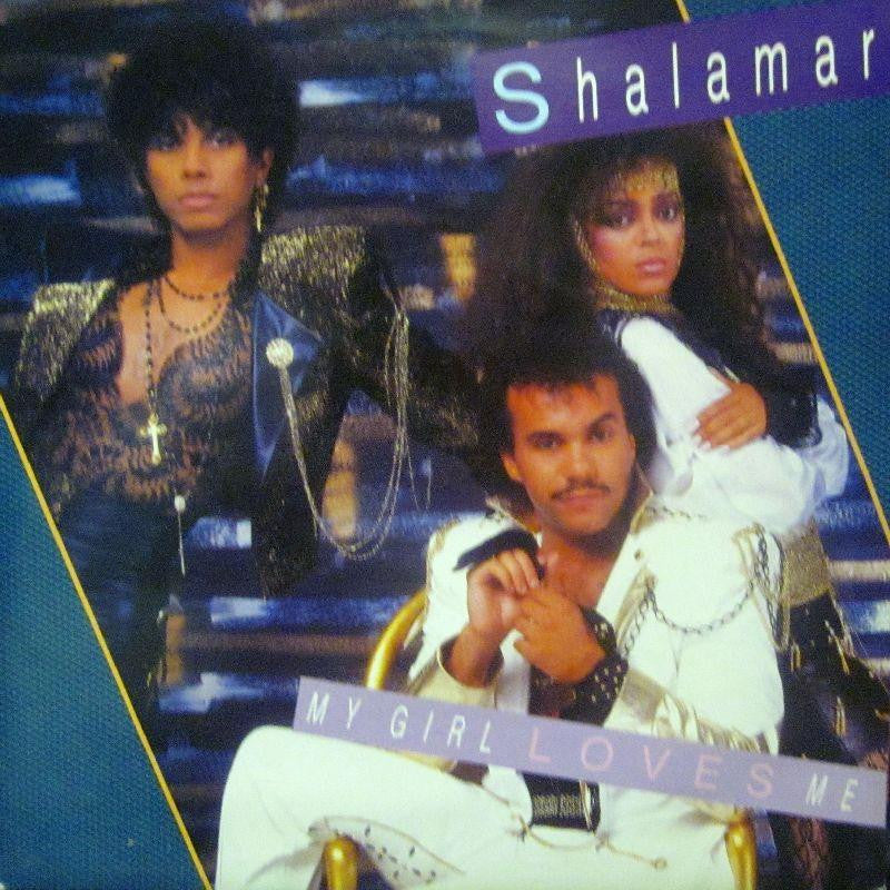 "Shalamar-My Girl Loves Me-7"" Vinyl P/S"