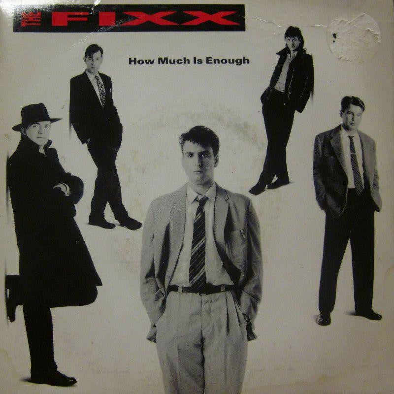 "The Fixx-How Much Is Enough-7"" Vinyl P/S"
