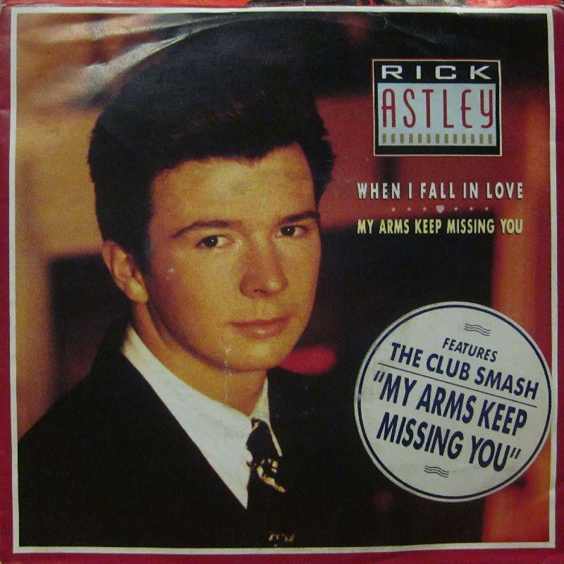 "Rick Astley-When I Fall In Love-7"" Vinyl P/S"