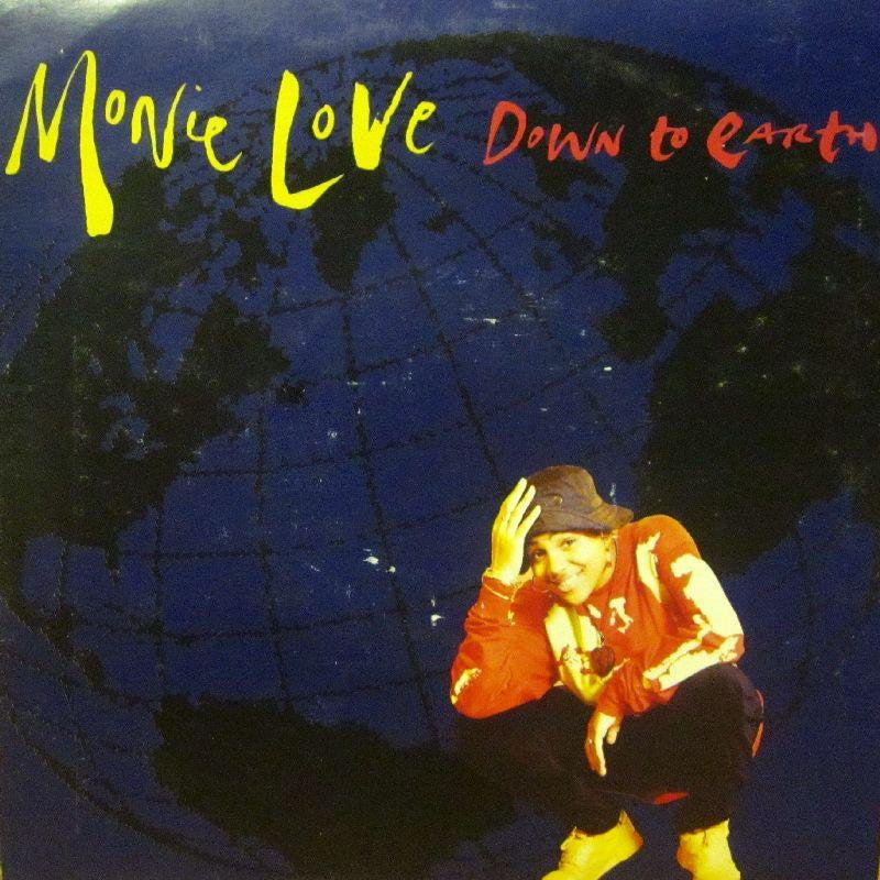 "Monie Love-Down To Earth-7"" Vinyl P/S"