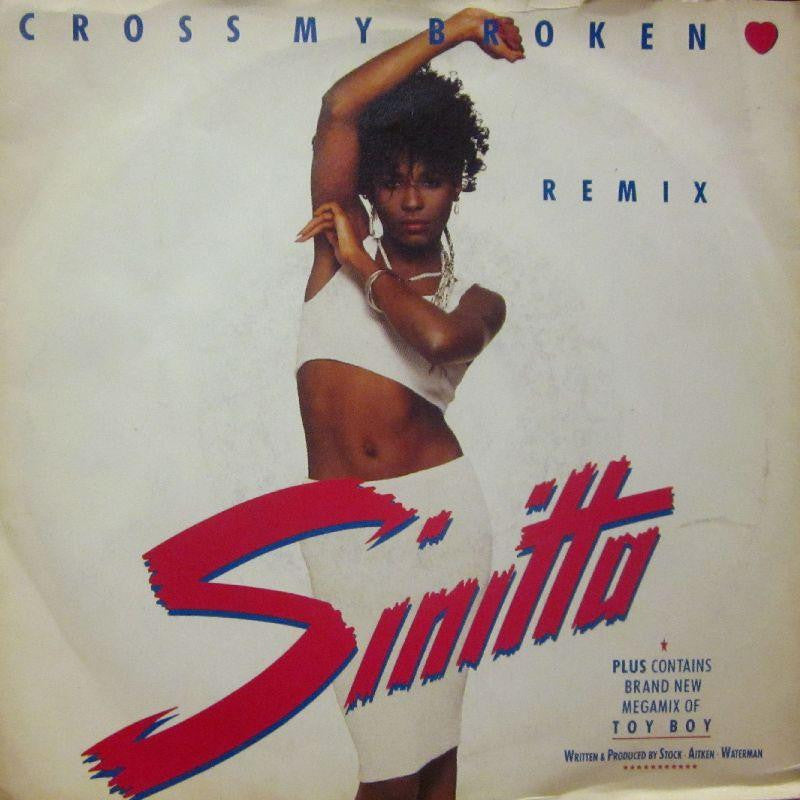 "Sinitta-Cross My Broken Heart-7"" Vinyl P/S"