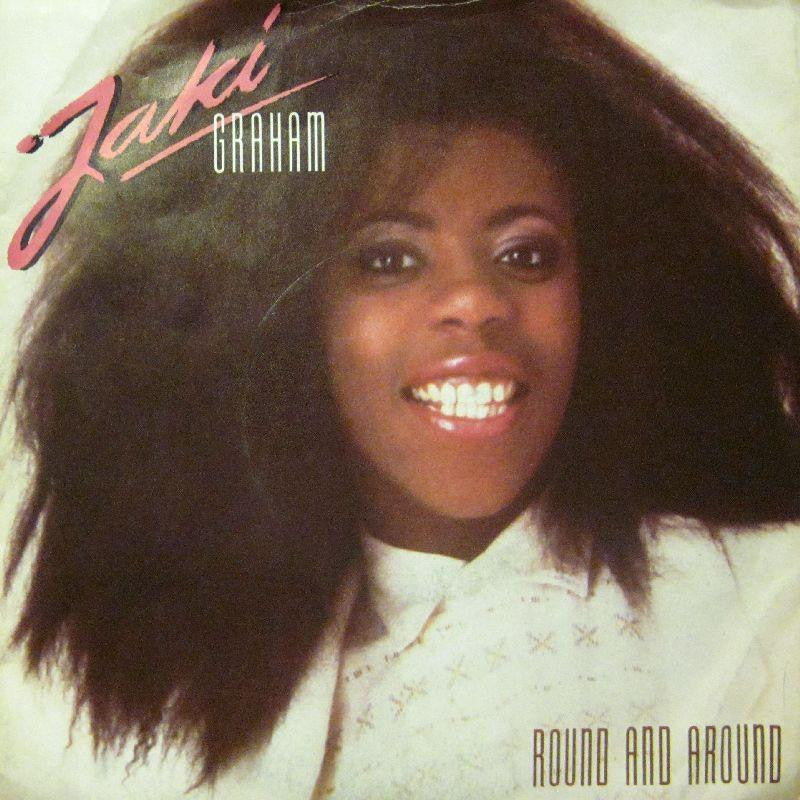 "Jaki Graham-Round And Around-7"" Vinyl P/S"