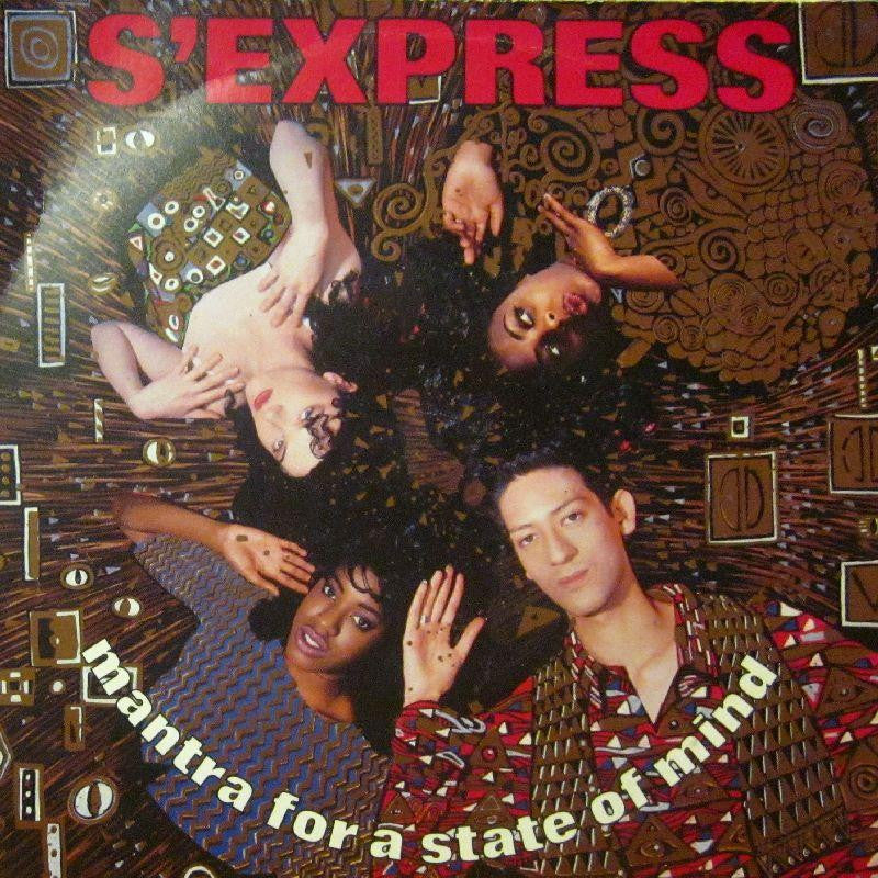 "S Express-Mantra For A State Of Mind-7"" Vinyl P/S"