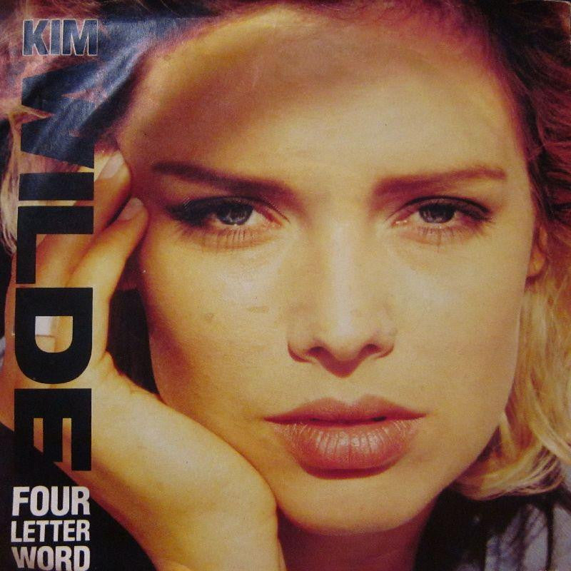 "Kim Wilde-Four Letter Word-MCA-7"" Vinyl P/S"