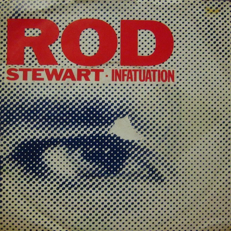 "Rod Stewart-Infatuation-7"" Vinyl P/S"