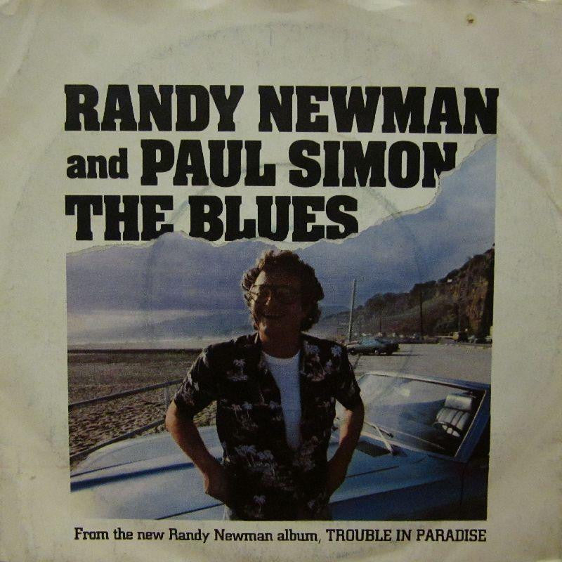 "Randy Newton And Paul Simon-The Blues-7"" Vinyl P/S"