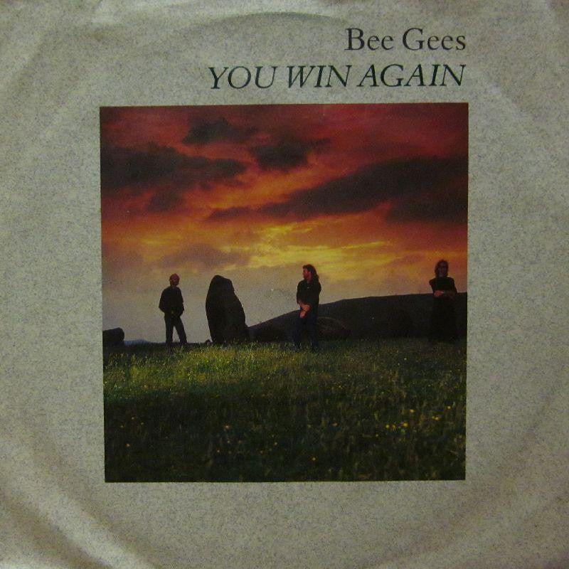 "Bee Gees-You Win Again-7"" Vinyl P/S"