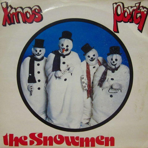 "The Snowmen-Xmas Party-7"" Vinyl P/S"
