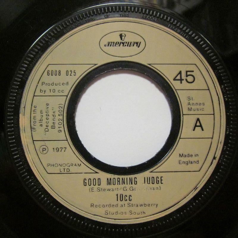 "10CC-Good Morning Judge-7"" Vinyl"