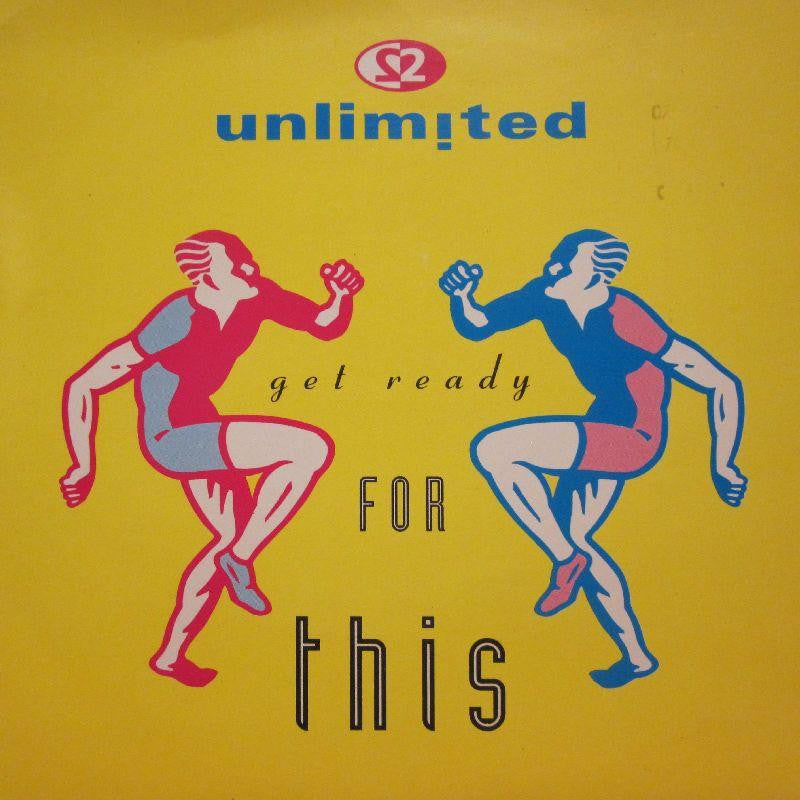 "2 Unlimited-Get Ready For This-7"" Vinyl P/S"