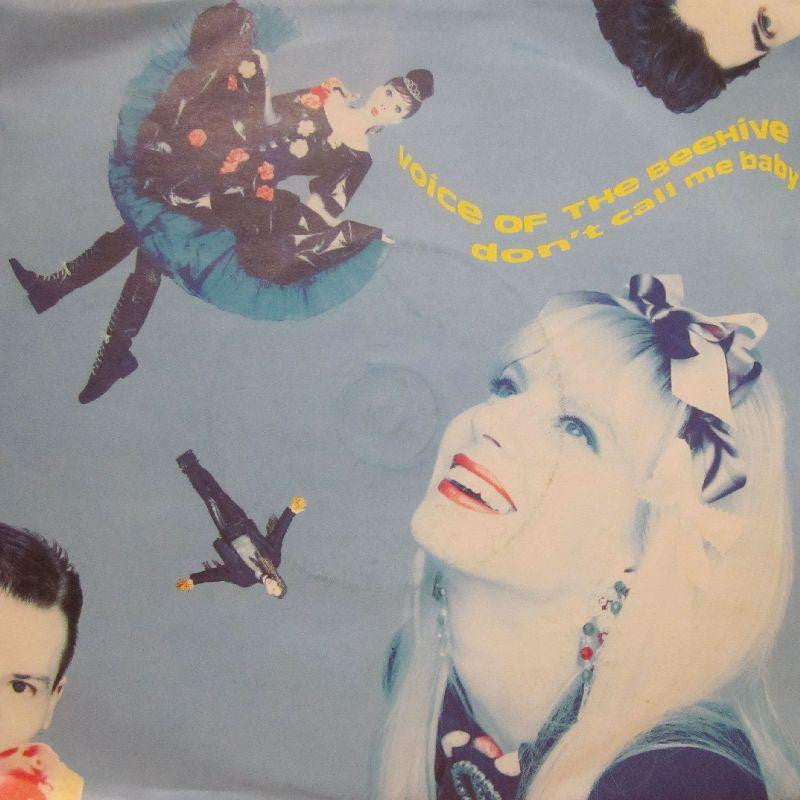 "Voice of The Beehive-Don't Call Me Baby-7"" Vinyl P/S"