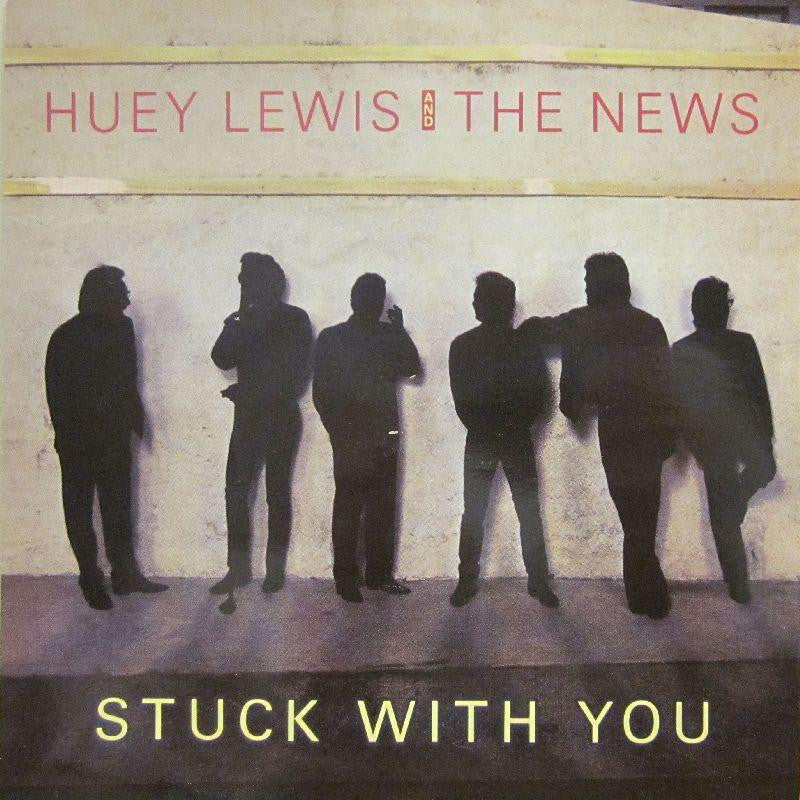"Huey Lewis And The News-Stuck With You-7"" Vinyl P/S"