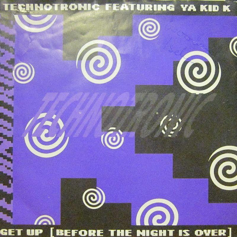 "Technotronic-Get Up-7"" Vinyl P/S"