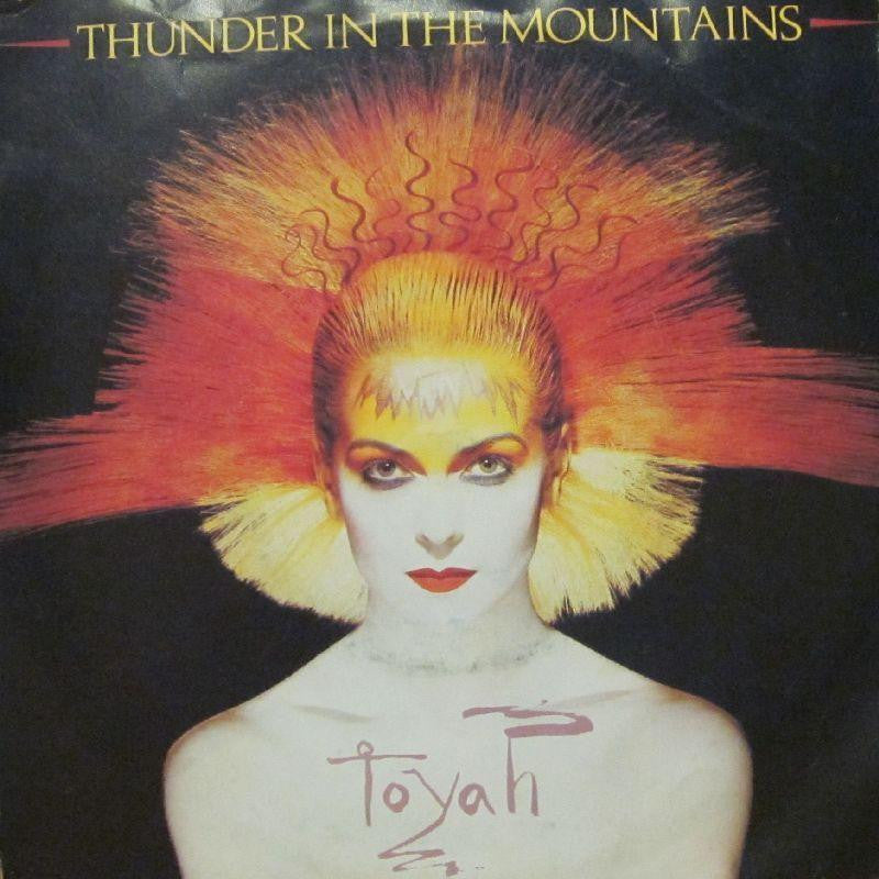 "Toyah-Thunder In The mountains-7"" Vinyl P/S"
