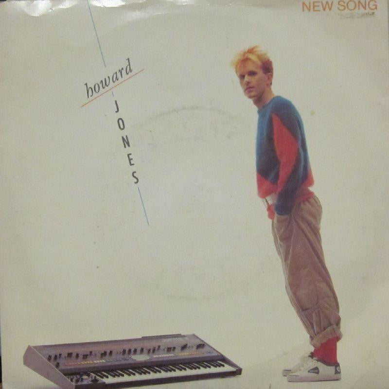 "Howard Jones-New Song-7"" Vinyl P/S"