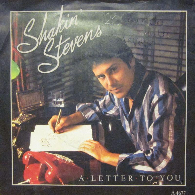 "Shakin' Stevens-A Letter To You-7"" Vinyl P/S"