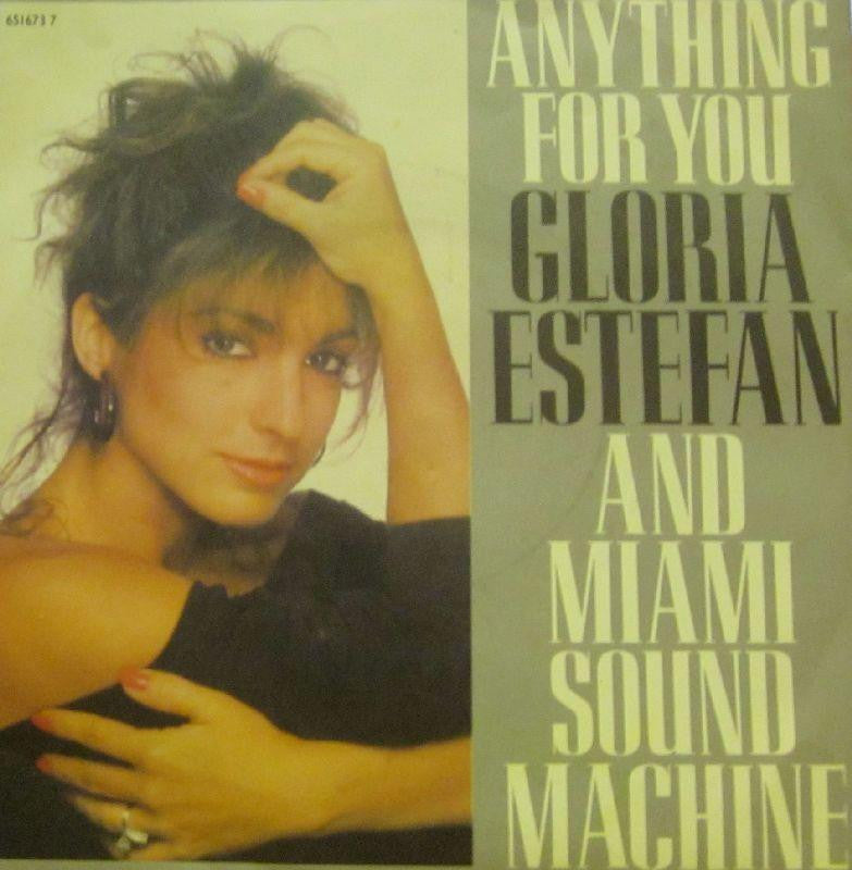 "Gloria Estefan-Anything For You -7"" Vinyl P/S"