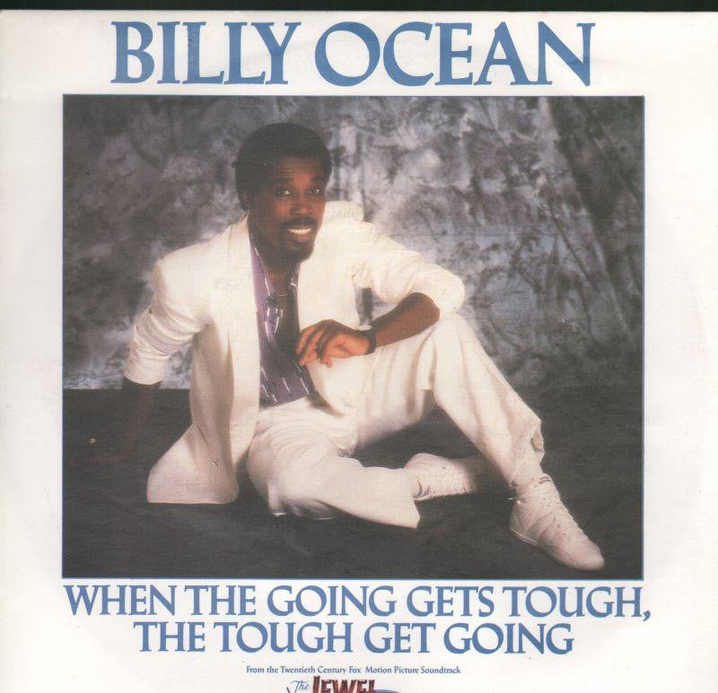 "Billy Ocean-When The Going Gets Tough, The Tough Get Going-7"" Vinyl P/S"
