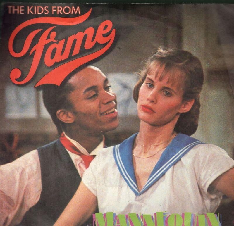"The Kids From Fame-Mannequin-7"" Vinyl P/S"