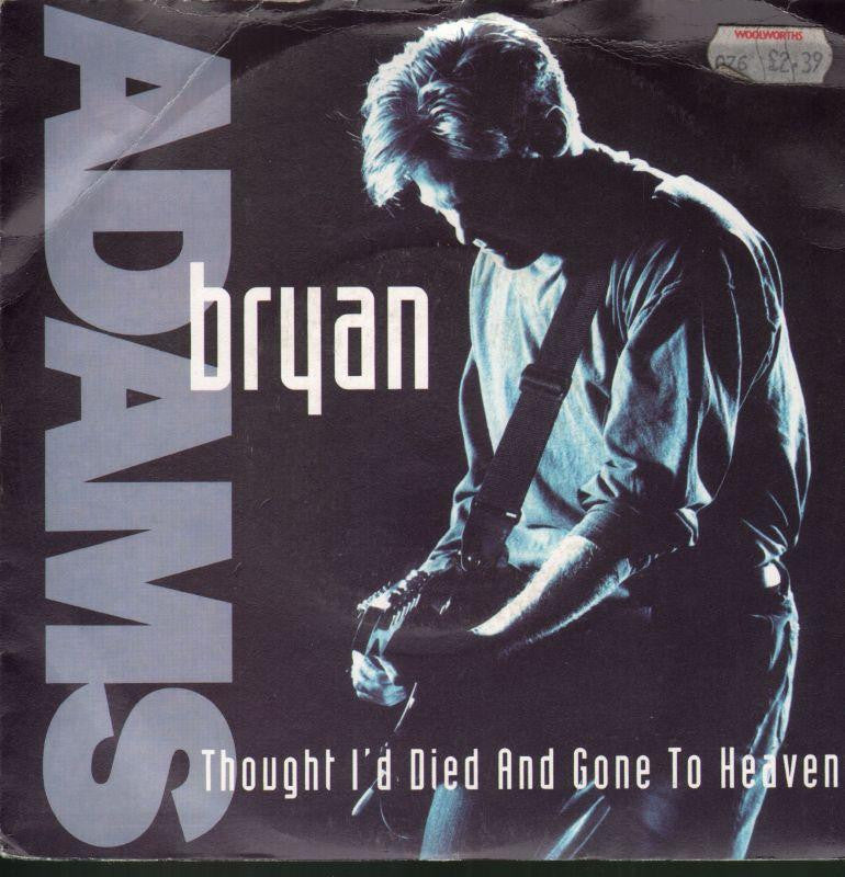 "Bryan Adams-Thought I'd Died And Gone To Heaven-7"" Vinyl P/S"