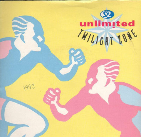 "2 Unlimited-Twlight Zone-7"" Vinyl P/S"