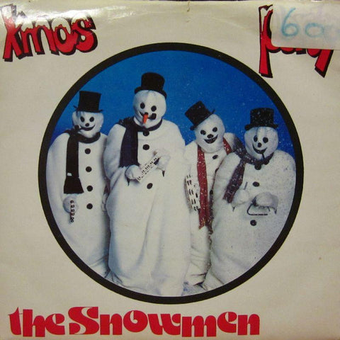 "The Snowmen-Xmas Party-Solid Productions-7"" Vinyl"