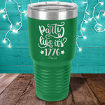 Party Like It's 1776 Laser Etched Tumbler