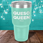 Queso Queen Bold Laser Etched Tumbler