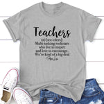 Teachers Are Kind Of A Big Deal