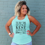 The Only Thing Getting Rest Is My Resting Bitch Face Curvy Apparel