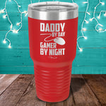 Daddy By Day Gamer By Night Laser Etched Tumbler