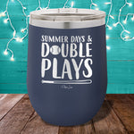 Summer Days Double Plays 12oz Stemless Wine Cup