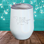 Dachshund Mom Laser Etched Tumbler