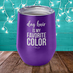 Dog Hair Is My Favorite Color Laser Etched Tumbler