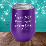 $14.99 Valentine's Day Special! Love More Worry Less Laser Etched Tumbler