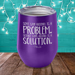 Some Say Alcohol Is A Problem Laser Etched Tumbler