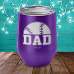 $15 Father's Day Special | Baseball Dad Laser Etched Tumbler