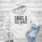 Carbs And Cuss Words Winter Apparel