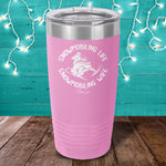 Snowmobiling Life Snowmobiling Laser Etched Tumbler